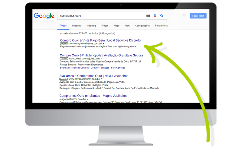 Campanha Google Ads