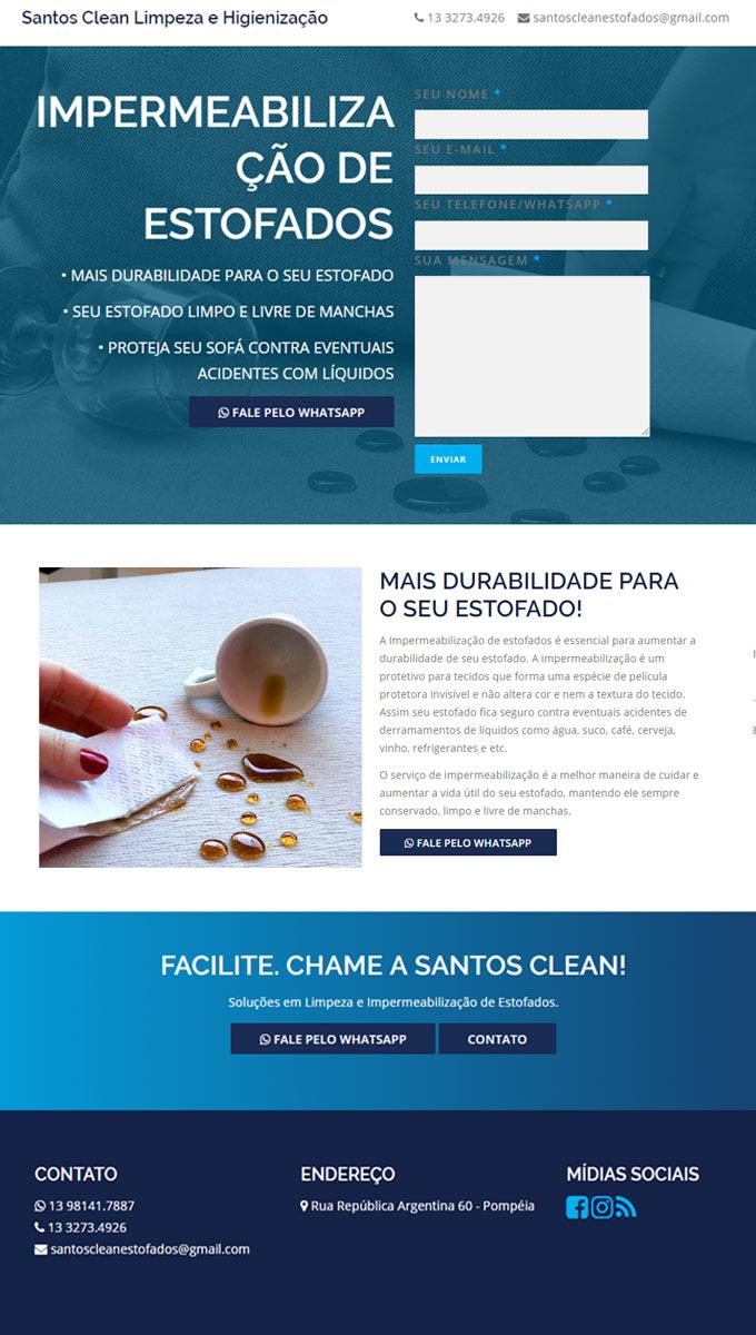 Criação de Landing Pages em Santos