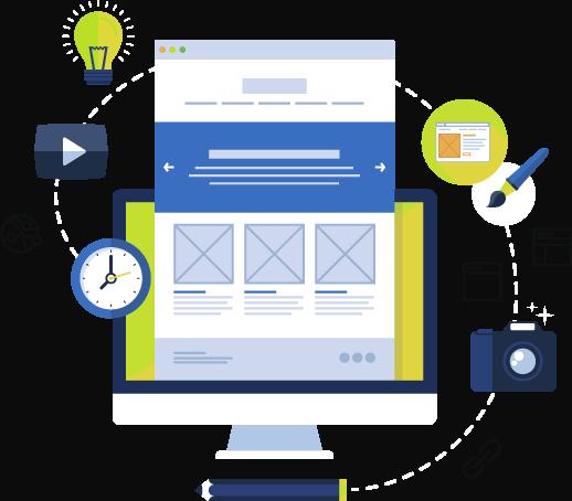Serviços web design e mkt digital
