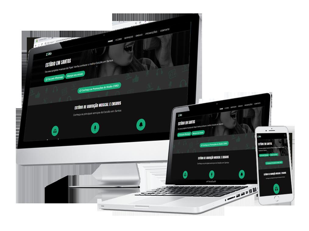 Criação de Site Studio Zero