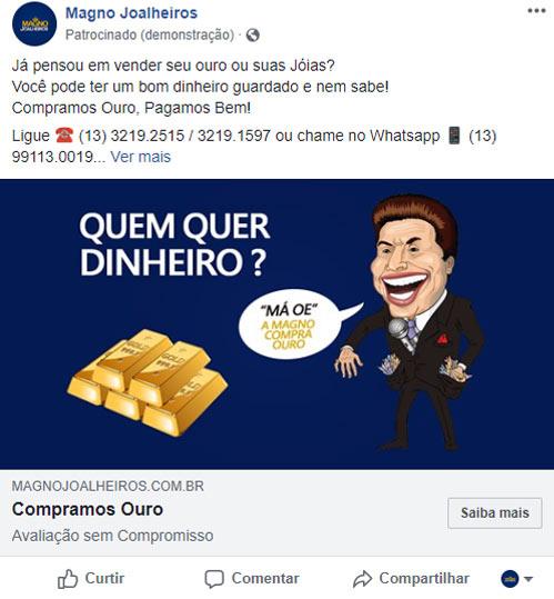 Criação de Anúncio Facebook