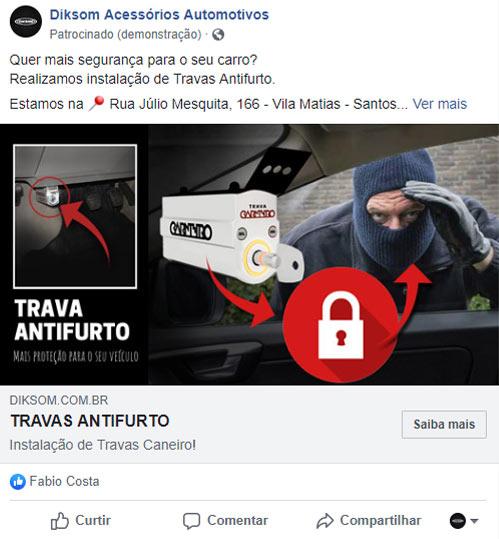 anúncios facebook e instagram