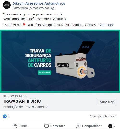 campanhas facebook e instagram
