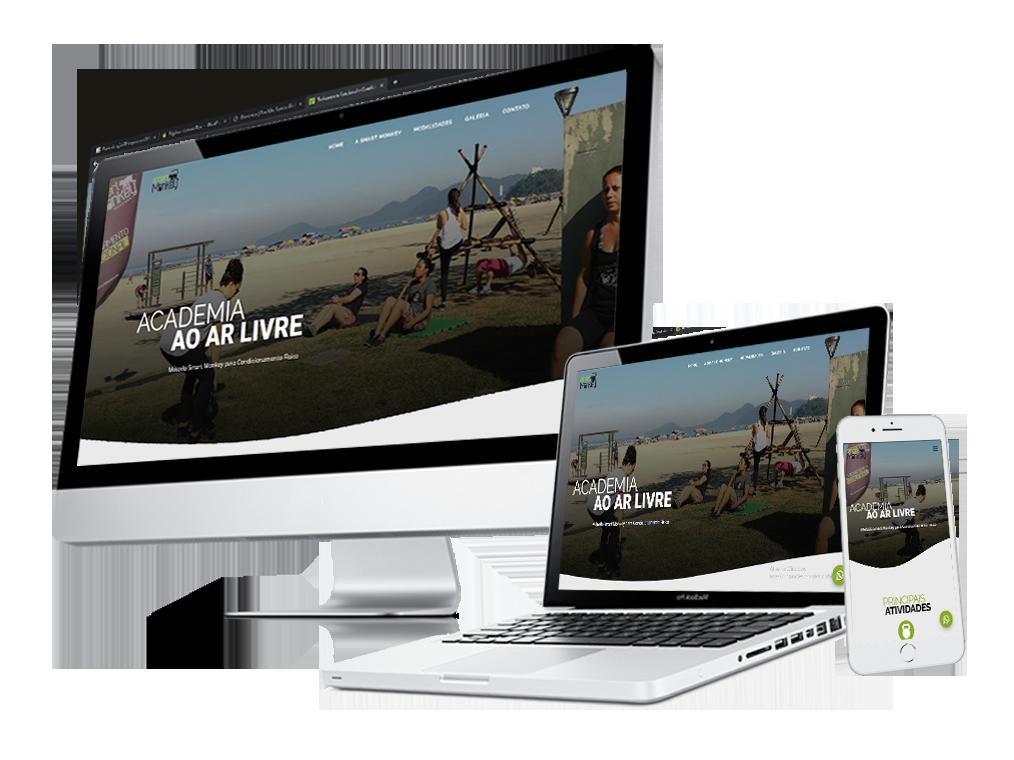Criação de site para Smart Monkey