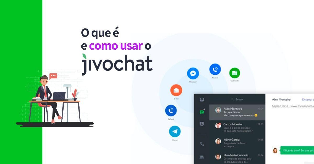 O que é e como usar o Jivochat