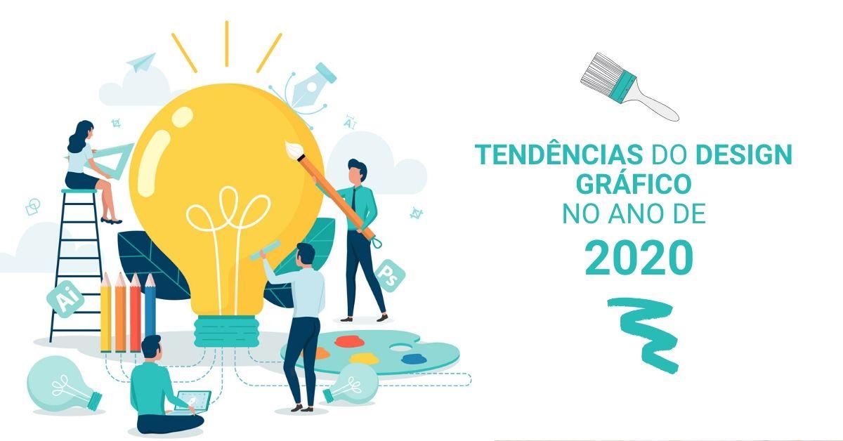 Tendências do design gráfico no ano de 2020