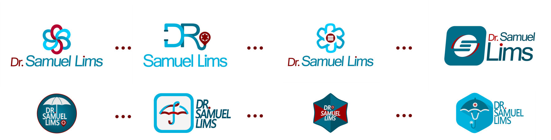 Evolução Logo Samuel Lims